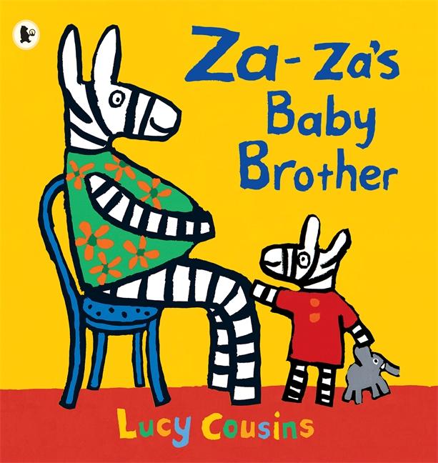 Za Za's Baby Brother - angol mese a kistestvér születéséről