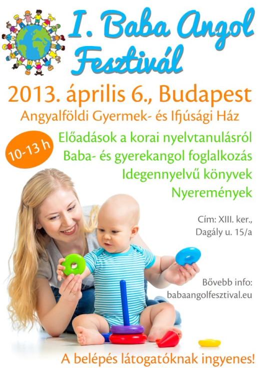 I. Baba Angol Fesztivál 2013. április 6-án