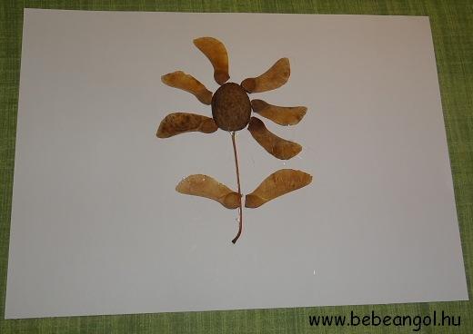 őszi termésekkel, őszi falevelekkel kreatívkodtak a gyerekekkel
