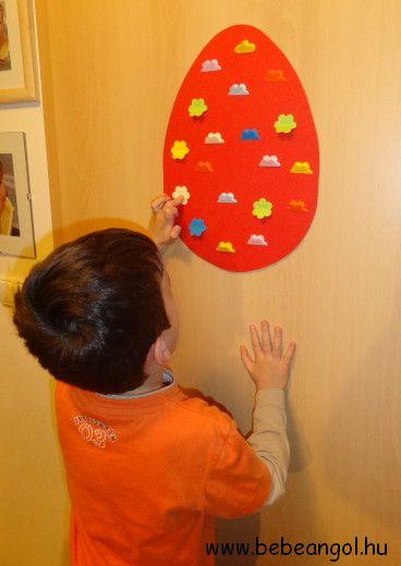 Játékosan tanuljuk angolul az ellentéteket olvasni Húsvétkor a gyerekekkel