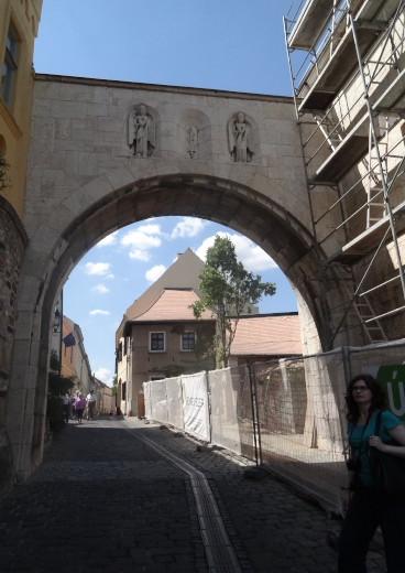 Hősök kapuja Veszprémben