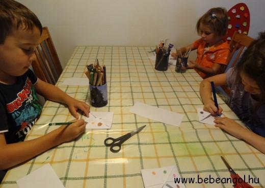 nyári angol tábor 5-7 éveseknek