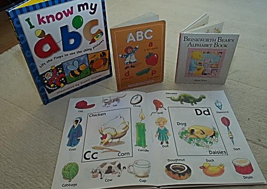 angol ABCs könyvek gyerekeknek