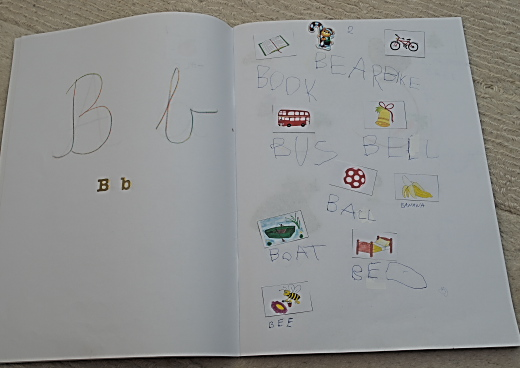 készítsünk saját angol ABCs könyvet