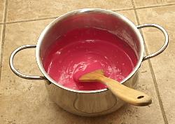 a gyurma főzés előtt