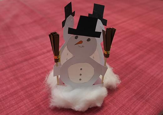 kreatív hóember angolozáshoz