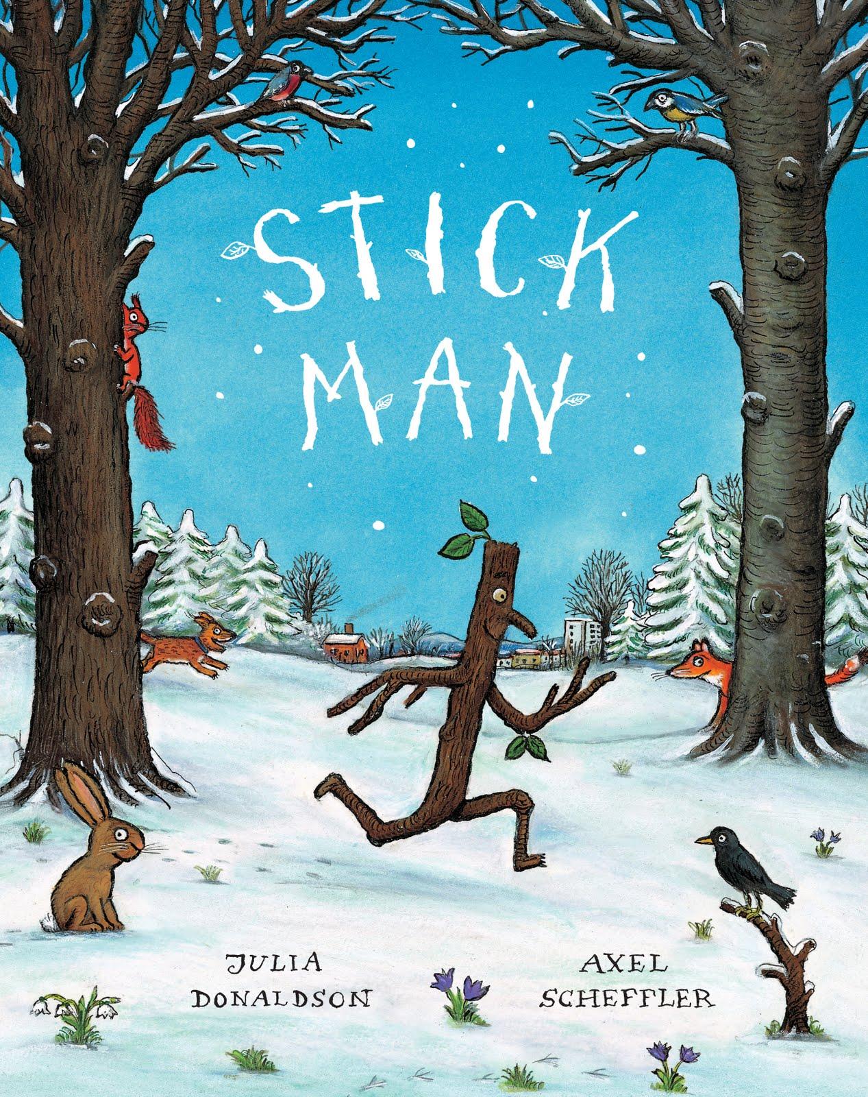 Stick Man by Julia Donaldson - nagyszerű angol gyerekkönyv