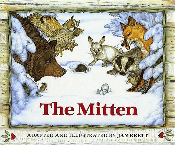 The Mitten - aranyos téli mese angolul
