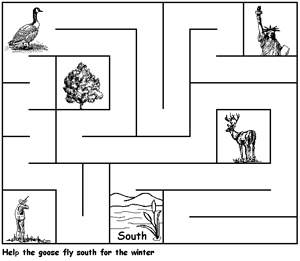 libás labirintus gyerekeknek