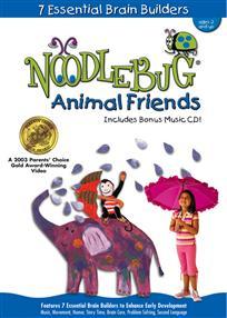 Noodlebug DVD gyerekeknek angoltanuláshoz