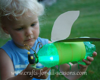 firefly craft from green bottle