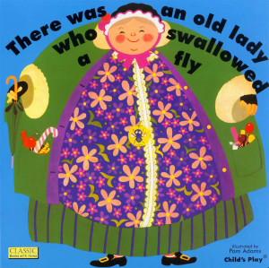 There was an old lady who swallowed a fly - angol gyerekdal játékos feldolgozása